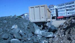 Çınarcık Sahil Dolgu Projesi start aldı