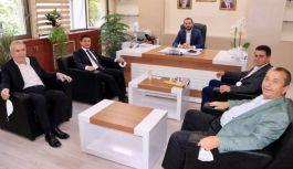 Parıldar, Başkan Yardımcılarını ziyaret etti