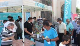 Ayasofya'nın açılışı için TÜGVA'dan lokma ikramı