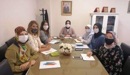 AK Kadınlar istişare toplantısı gerçekleştirdi