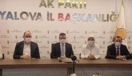 AK Teşkilat telekonferans ile bayramlaştı