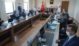 'Kaplıcalı Fizik Tedavi ve Rehabilitasyon Merkezi' Kurulması Projesinin değerlendirme toplantısı yapıldı