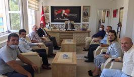 MHP Teşkilatı Çınarcık ziyaretinde