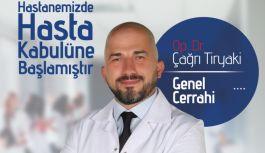 Opr. Dr. Çağrı Tiryaki Özel Atakent Hastanesi'nde