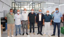 YTSO, CEMASK maske üretim tesislerini ziyaret etti