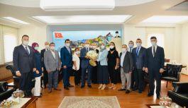 DEVA Yönetimi Yalova protokolüyle tanıştı