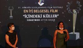 En iyi belgesel filmi ödülü Yalova'da