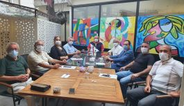 Kent Konseyi Yürütme Kurulu Üyeleri toplandı