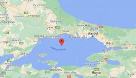 Marmara'da 4,2 şiddetinde deprem