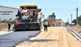 Mesut Sokakta asfaltlama tamamlandı
