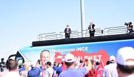 Muharrem İnce 'Memleket Hareketi'ni Sivas'ta başlattı
