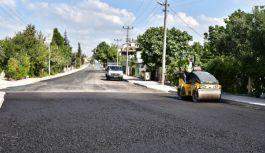 Rasim Koçal Caddesi'nin asfaltlanması tamamlandı