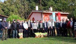 187 çiftçiye 15,5 ton yem bitkileri tohumu dağıtıldı