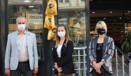 Çınarcık MHP İlçeden 'Askıda Ekmek' kampanyası