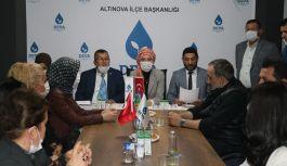 DEVA Altınova İlçe Başkanlığında kongre heyecanı