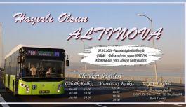 Hat 700 Altınova'dan da yolcu alacak