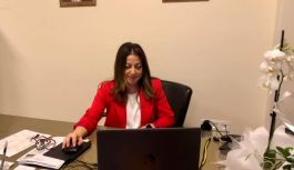 AK Parti Kadın Kolları video konferansla bir araya geldi