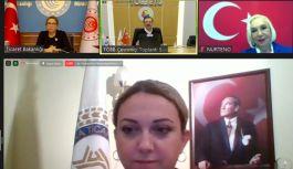 TOBB Kadın Girişimciler video konferansta toplandı