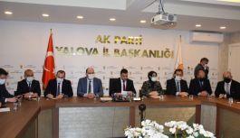 AK Parti, Yalova'da 10 proje için düğmeye bastı