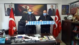 Akköyspor Kulübü MHP'yi ziyaret etti