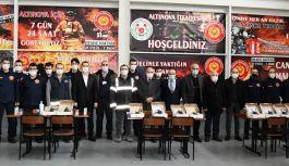 Altınova İtfaiyesi güçlenmeye devam ediyor