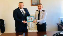 Başkan Tanaçan, Albay Özkan Seyrek'i ziyaret etti