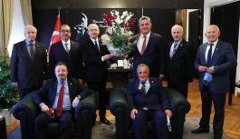 CHP Yalova İl Örgütü, Kılıçdaroğlu'nu ziyaret etti