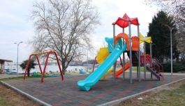 Belediyeden yeni ve modern park çalışması