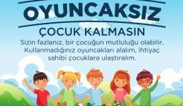 Gürel'den, Oyuncaksız Çocuk Kalmasın Projesi