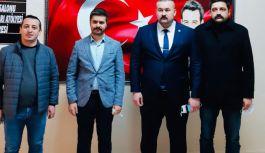 Ülkü Ocakları'na Genel Başkan Yardımcısı Güzelay'dan ziyaret