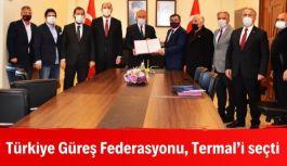 Türkiye Güreş Federasyonu, Termal'i seçti