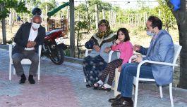 Şehit Aileleri ve gazilere ziyaret