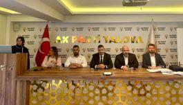 AK Parti Teşkilatı İnsan Hakları seminerine katıldı