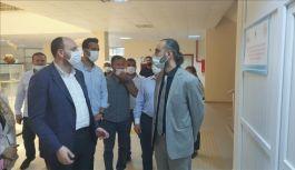Büyükgümüş Armutlu Meslek Yüksekokulu'nu ziyaret etti