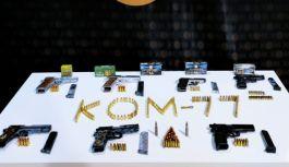 Silah kaçakçılarına eş zamanlı operasyon
