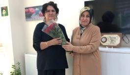 AK Kadınlar, şiddet mağduru kadınların yanında