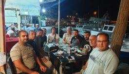 Ballı, sel bölgesinde görev yapan gazetecileri ziyaret etti