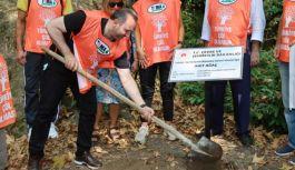 Çevre temizliğine Başkan Vekili Tutuk'tan destek