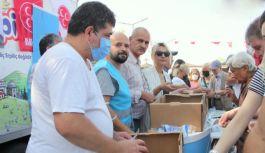 Çınarcık Ülkü Ocakları ve MHP İlçe Teşkilatı Aşure dağıttı
