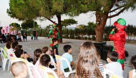 Çocuklar, bayram vesilesiyle doyasıya eğlendi