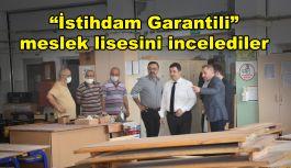 """İstihdam Garantili"" meslek lisesi start aldı"