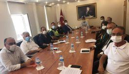 Yardım Kampanyası için iş birliği toplantısı yapıldı