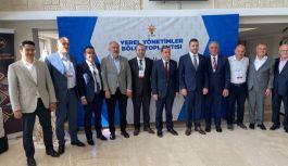 AK Parti Heyeti Balıkesir'de temaslarda bulundu