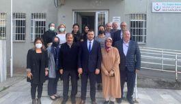 AK Parti Heyetinden, Güven Hocaoğlu'na ziyaret