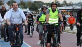 Avrupa Hareketlilik Haftası için pedal çevirdiler