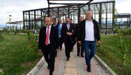 Başkan Oral, Bosna-Hersek Heyetini ağırladı