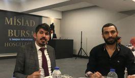 Fatih Us, MİSİAD Bursa toplantısında konuştu