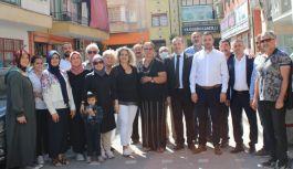 Sivaslılar, esnaf ve AK Parti Heyetini kahvaltıda buluşturdu