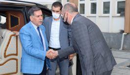 Vekil Zenbilci'den, Başkan Soyer'e ziyaret