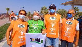 Yalova TEMA Kuşadası'nda çevre temizliği yaptı